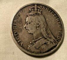 1892 QUEEN VICTORIA SILVER CROWN