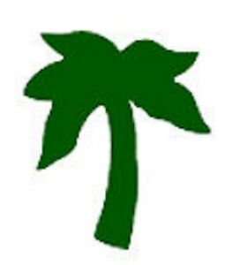 Tanning Bed Body Stickers Tattoo Palm Tree   Quantity 1000