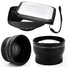 52mm 16:9 Hood,Wide Angle,Tele Lens for Panasonic Lumix DMC-G1,GH1,GF1,G10,G2,US