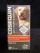 Cosequin Max Strength Joint Health & Support Supplement 60 ct. Chewable EXP 2024
