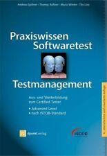 Andreas Spillner Praxiswissen Softwaretest - Testmanagement ISTQB ISQI