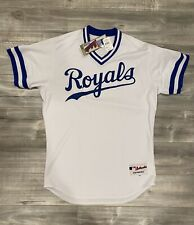 Kansas City Royals Alex Gordon 4 TBTC Throwback Authentic Majestic Jersey Sz. 44