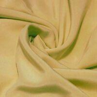 "silk fabric 0.5 yards 45"" wide 12mm 100% pure silk crepe de chine raw silk color"