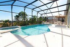 218 florida vacation rentals 4 bed villa with pool and spa near Disney 2 weeks