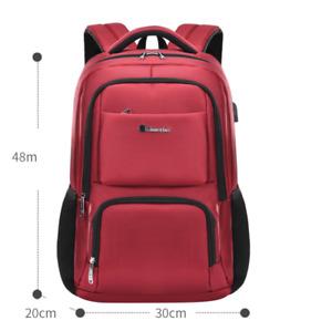 New Men Oxford School Student Backpack Satchel Laptop Casual Travel Bag BL