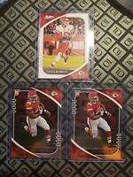 2020 Panini Absolute *2* Clyde Edwards-Helaire Rookie Card + 2 patrick mahomes