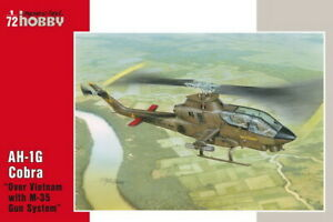 """Special Hobby 1/72 US AH-1G Cobra """"Over Vietnam with M-35 Gun System"""