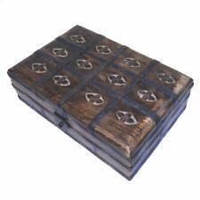 Schmuckschatulle Holzkiste Holzbox Holztruhe Schmuckkästchen Schmuckkästchen