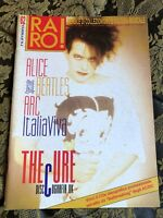 RARO! 61 Magazine about discography ps THE CURE Alice Beatles ARC