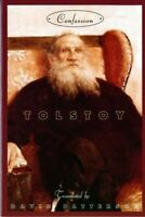 Confession, Paperback by Tolstoy, Leo; Patterson, David (TRN), Like New Used,...