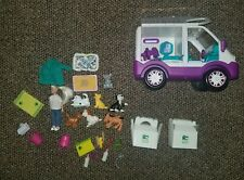 Animal Planet Animal Rescue Ambulance Plus Pets And Accessories Lot