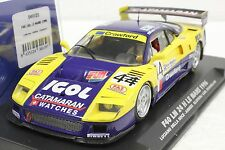 FLY 049101 FERRARI F40 LM 24 HOURS OF LE MANS 1966 NEW 1/32 SLOT CAR IN DISPLAY