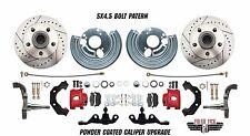 Mopar A Body Performance Disc Brake Conversion Kit Wheel Kit, 5x4.5 Bolt Pattern