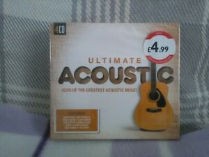 Ultimate Acoustic (2017) Cd -4 X CDs - New - various artists - Free UK postage