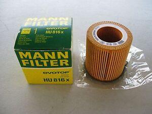 MANN FILTER ENGINE OIL FILTER FOR BMW (#11 42 7 541 827)
