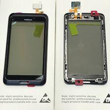 Original Nokia E7 E 7  Touchscreen Screen Glasscheibe Glas Rahmen Gehäuse Neu