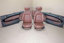 MINI Cooper R61 Leather Seats Interior Sitze Lederausstattung Red Copper