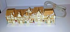 ELECTRIC BAR CHRISTMAS HOUSES SHABBY CHIC CHRISTMAS HOUSES  VILLAGE ELECTRIC