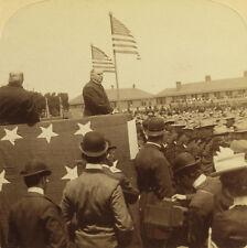 Underwood & Underwood Stereoview of President McKinley, San Francisco, CA 1901