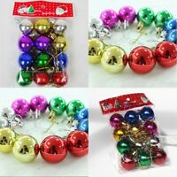 12PCS Quality Clip On Beard Baubles Decorations Secret Santa Xmas Present Gifts
