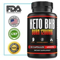 Ultra Fast Pure Keto BHB Weight Loss Diet Pills  Ketogenic Supplement Boost Burn