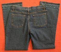 Bill Blass Modern Fit Boot Cut Stretch Blue Jeans Women's Size 12