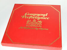 coffret 8 LP box Command performance CURTAIN UP arias GALA a Night at THE OPERA