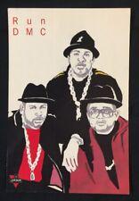 1990's RUN-D.M.C. American Hip Hop Group PolyGram Records official postcard