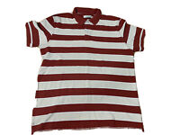 R.M. Williams Mens Big And Tall 3 XL Polo Stripped Shirt