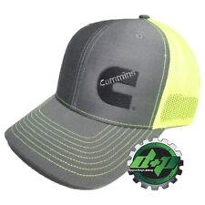 fc04472728d Dodge Cummins trucker hat ball mesh richardson safety yellow neon snap back