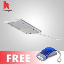 Keimavgear Waterproof Long Handle Solar LED Light Free Hand Press Flashlight