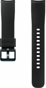 Samsung Active Silicone Band Strap for Galaxy Watch 22mm Onyx Black OPEN BOX NEW