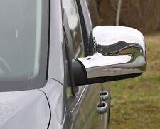 Spiegelkappen Set für Renault Kangoo 2008-2013 ABS Chrom Blenden Cover Abdeckung
