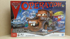 HASBRO MB OPERATION SILLY SKILL GAME DISNEY PIXAR CARS 2 EDITION COMPLETE MATTER