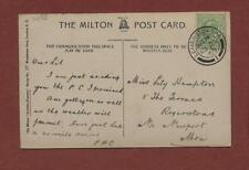 Lily Hampton, 5 The Terrace, Rogerstone, Newport 1909 - PHC Leamington  qj 209