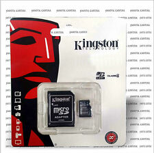 SCHEDA MEMORIA MINI MICRO SD HC KINGSTON PER SAMSUNG GALAXY S3 MINI I8190