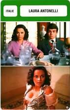 FICHE CINEMA : LAURA ANTONELLI - Italie (Biographie/Filmographie)