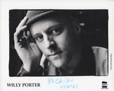 Willy Porter- Music Memorabilia Photo