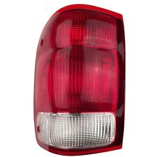 Left Tail Light - Fits 2000 Ford Ranger Pickup Rear Lamp - Driver Side New