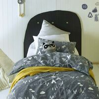 In the Woods Boys Duvet | Doona Quilt Cover Set | Jiggle & Giggle | Kids Room