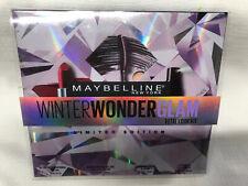 Maybelline Winter WonderGlam Total Look Kit Lip Color, Liner, Mascara & Spray