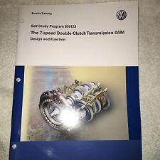 VW Manual 850123 Volkswagen 7-SPEED TRANSMISSION 0AM  - Service Training Manual