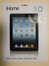 GENUINE iHome SCREEN PROTECTOR iPad iPad 2, 3 & 4 ANTI SCRATCH & GALRE IH-IP2200