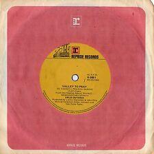 "ARLO GUTHRIE - VALLEY TO PRAY - RARE 7"" 45 VINYL RECORD - 1970"