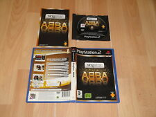 SINGSTAR ABBA DE LONDON STUDIO PARA LA SONY PS2 USADO EN MUY BUEN ESTADO