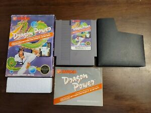 Dragon Power (Nintendo Entertainment System, 1988) Complete - Tested - Authentic