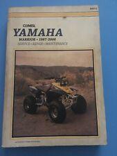 Clymer Yamaha Warrior 1987-2000 Service Repair Maintenance Manual