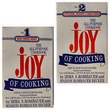 Joy Of Cooking 2 Volume Set NEW & SEALED Edition Cookbook Signet