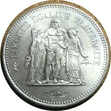 elf France 50 Francs 1976  Hercules Group  Silver