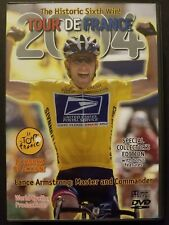 Tour De France 2004 (6-DVD Set, 2004) Lance Armstrong Cycling 12 Hours of Action